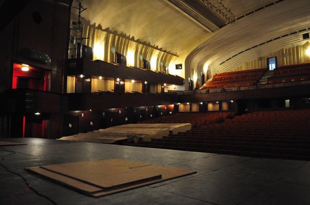 Bejárás az Erkel Színházban 2013. február 14-én