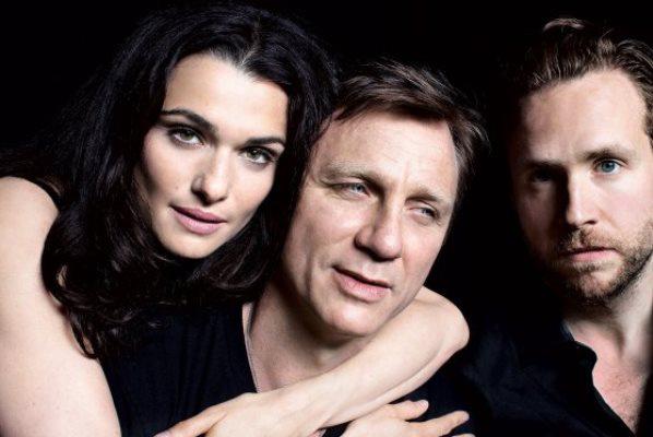 Rachel Weisz, Daniel Craig, and Rafe Spall