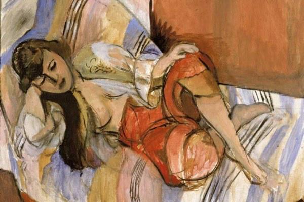 Henri Matisse: Odalisque (részlet)