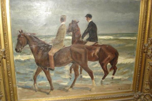 Max Lieberman: Lovasok a parton