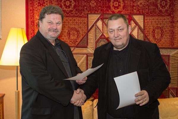 Gedeon József és Vidnyánszky Attila