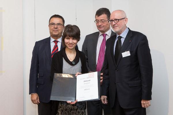 Othmar Michl, Kovács Olívia, Dr. Ottrubay István és Dr. Hegyi Lóránd
