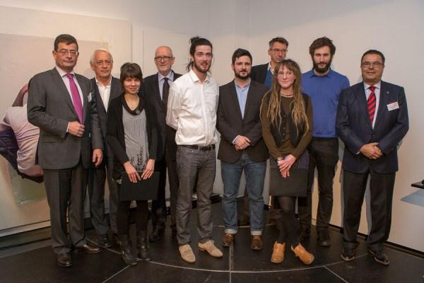 Az Esterházy Művészeti Díj kitüntetettjei és a díjat átadók