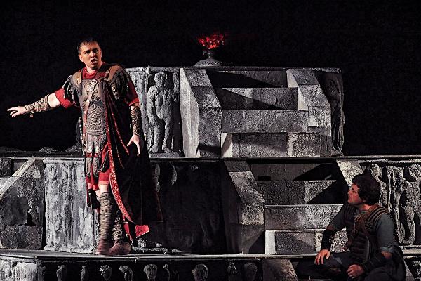 Fekete Attila a Norma előadásán