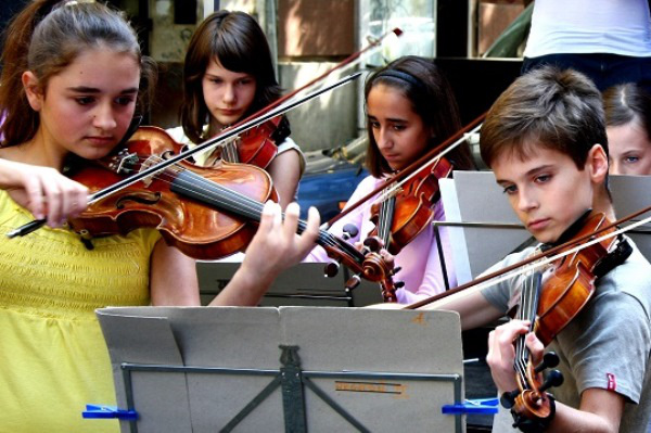 A Tóth Aladár Zeneiskola növendékeinek koncertje
