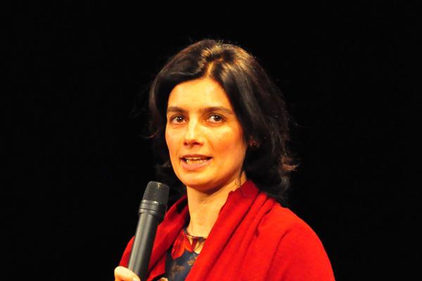 Lantos Anikó - Az első Thália Humorfesztivál díjátadója