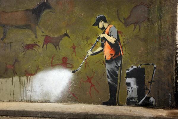 Banksy alkotása