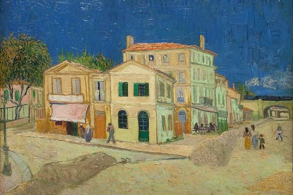 Vincent van Gogh: La Maison et son entourage, La Rue