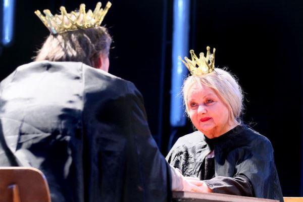 Pogány Judit a Hamlet c. előadásban