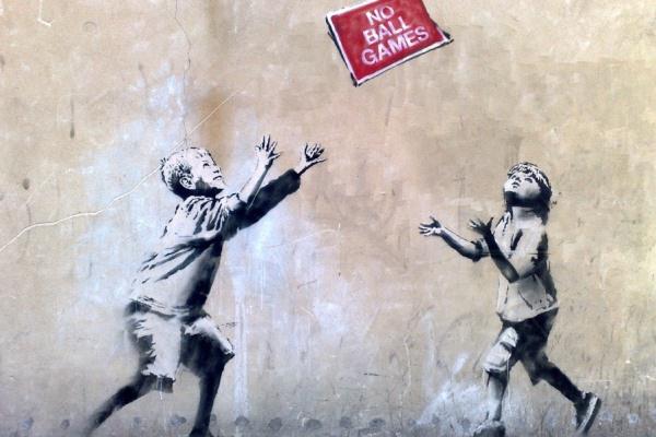 Banksy - No Ball Games
