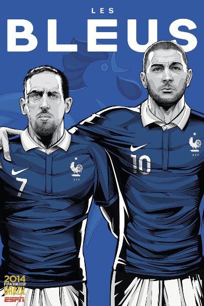 Franciaország - Franck Ribery, Karim Benzema (Cristiano Sigeuira, ESPN)