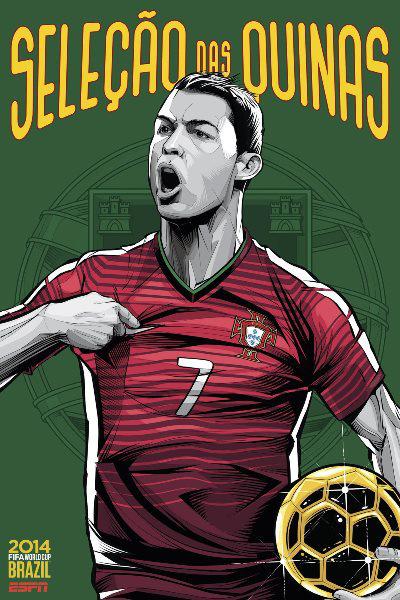 Portugália - Cristiano Ronaldo (Cristiano Sigeuira, ESPN)