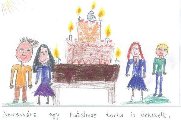 A születésnapi buli - Alkoss te is!