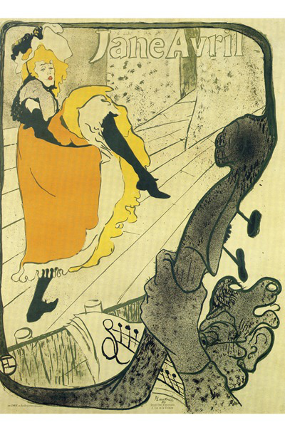 Toulouse-Lautrec: Jane Avril, 1893