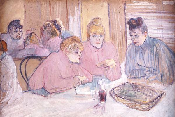 Toulouse-Lautrec: Ezek a hölgyek az ebédlőben