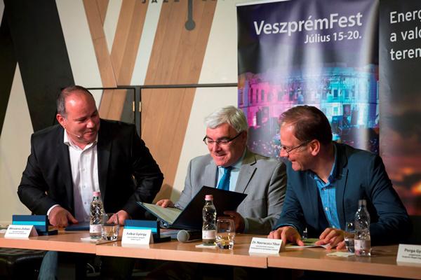 VeszprémFest 2014 sajtótájékoztató