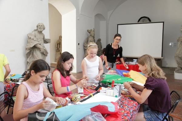 Alkotótábor a Kiscelli Múzeumban
