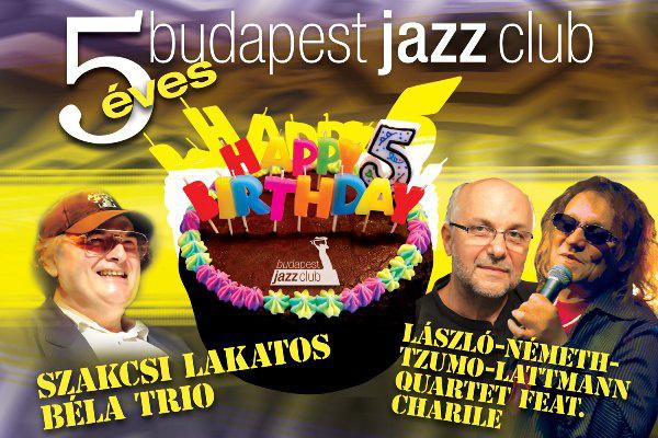 Ötéves a Budapest Jazz Club