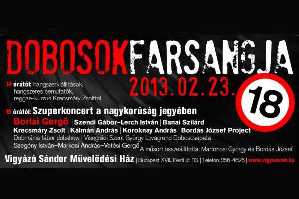 Dobosok Farsangja 2013