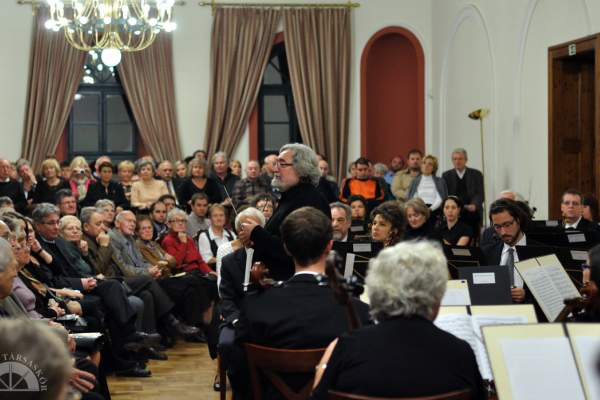 Gazda Péter az Óbudai Kamarazenekar Koncertjén