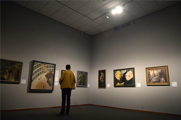 A Derkovits. A művész és kora c. kiállítás