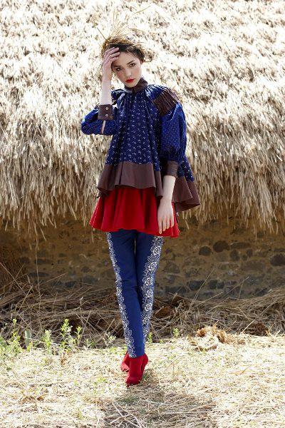 Hegedűs Anna (Piroshka) ruhája