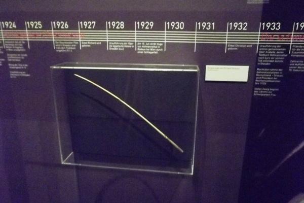 Osztrák Színházi Múzeum  - Richard Strauss karmesteri pálcája