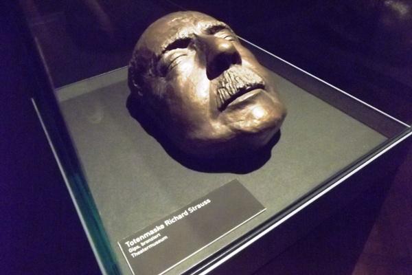 Osztrák Színházi Múzeum  - Richard Strauss halotti maszkja