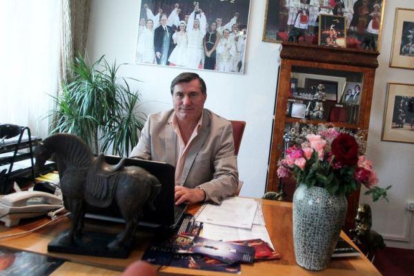 Richter József, a Fővárosi Nagycirkusz igazgatója