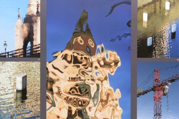 A Wachsler Tamás fotóiból rendezett kiállítás részlete