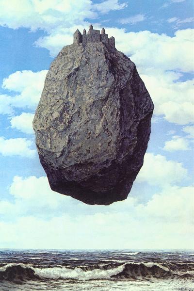 René Magritte: Kastély a Pireneusokban