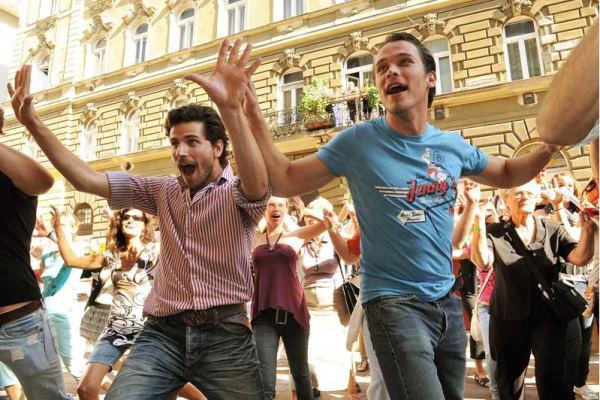 Telekes Péter és Lengyel Tamás a Vígnapon