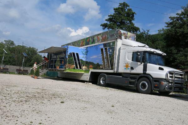 A Jövőnk Energiája Interaktív Kamion