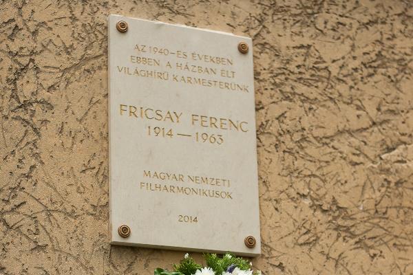 Fricsay Ferenc eméktábla