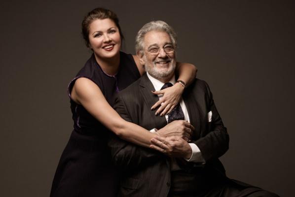Anna Netrebko és Plácido Dominco