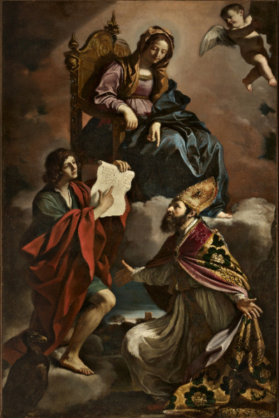 Guercino - San Vincenzo templom - Modena