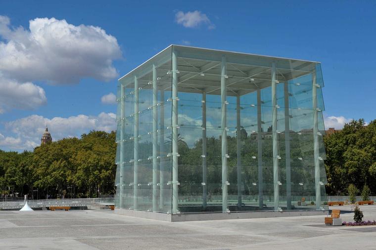 A Cubo épülete Malagában