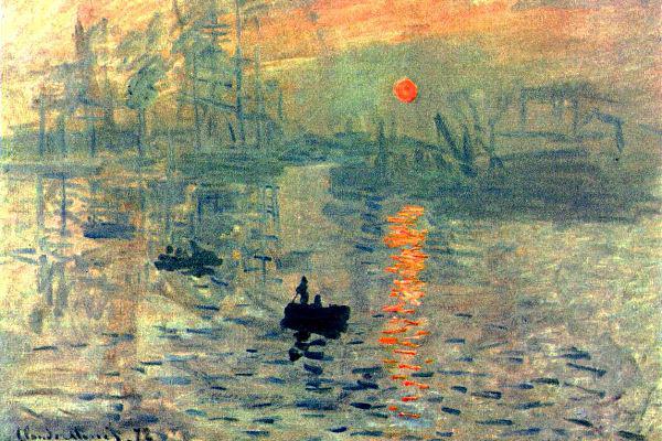 Monet: A felkelő nap impressziója