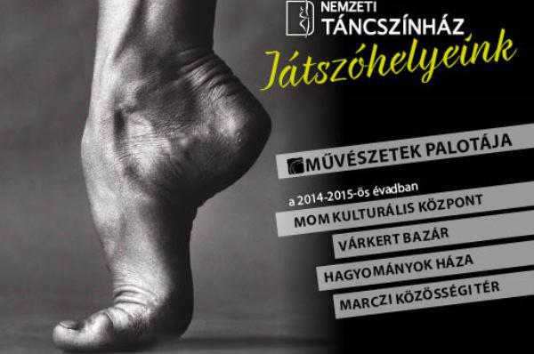 Nemzeti Táncszínház plakát