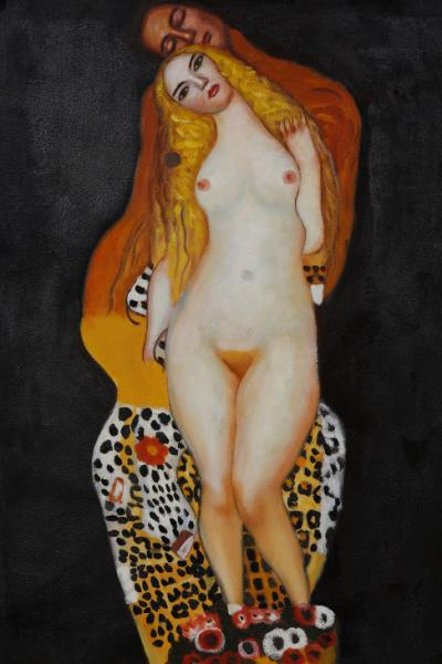 Gustav Klimnt: Ádám és Éva