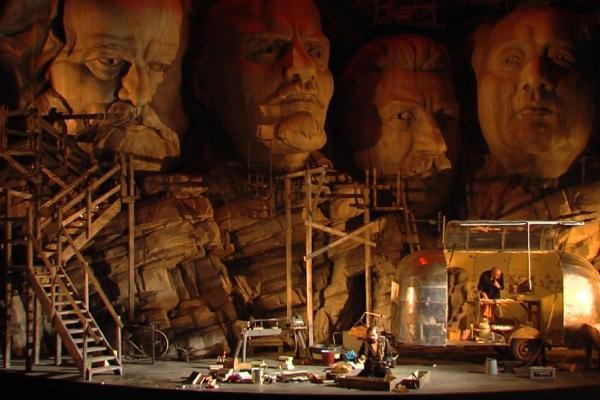 Frank Castorf - A Nibelung gyűrűje (Bayreuthi Ünnepi Játékok)