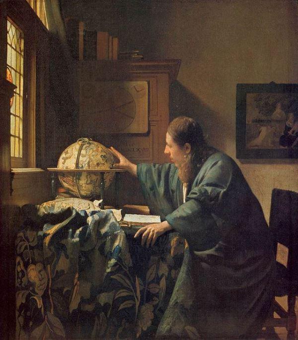 Johannes Vermeer: Az asztronómus
