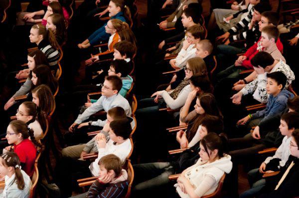 A Kodály Filharmonikusok ifjúsági koncertjén