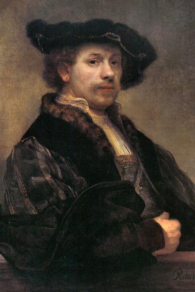 Rembrandt: A festő önarcképe harmincnégy éves korában