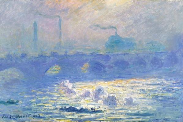 Claude Monet: Waterloo-híd Londonban