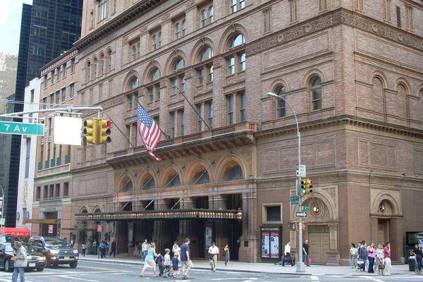 Carnegie Hall (Forrás: Wikipedia)