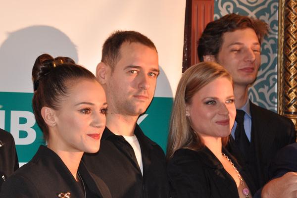 Molnár Nikolett, Schruff Milán, Réti Adrienn és Medvecz József