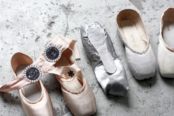 'E-traces' balettcipők