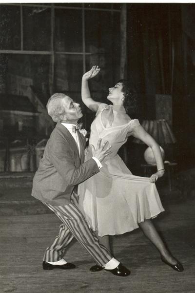 Harangozó Gyula - A csodálatos mandarin, 1956
