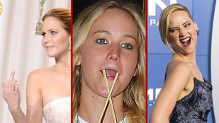 25 éves lett a pofavágások királynője, Jennifer Lawrence